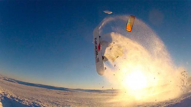 Snowkiting mekka