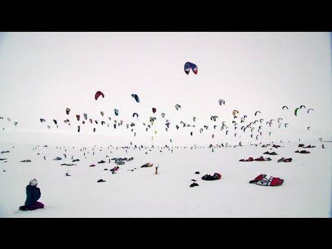 Snowkite Endurance Race – Red Bull Ragnarok 2012