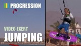 Kitesurf basic jump